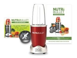 Delimano Блендер-измельчитель 600 W (красный) Nutribullet