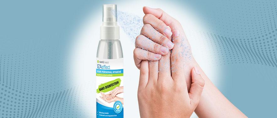 Средство для дезинфекции рук IZAeffect 100мл