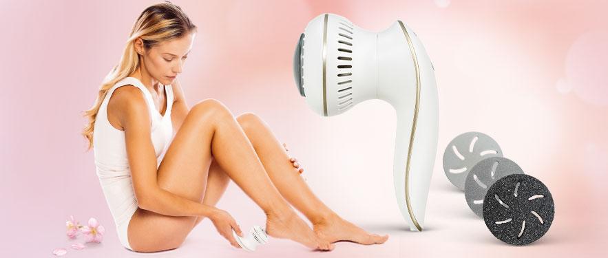 Прибор для удаления огрубевшей кожи