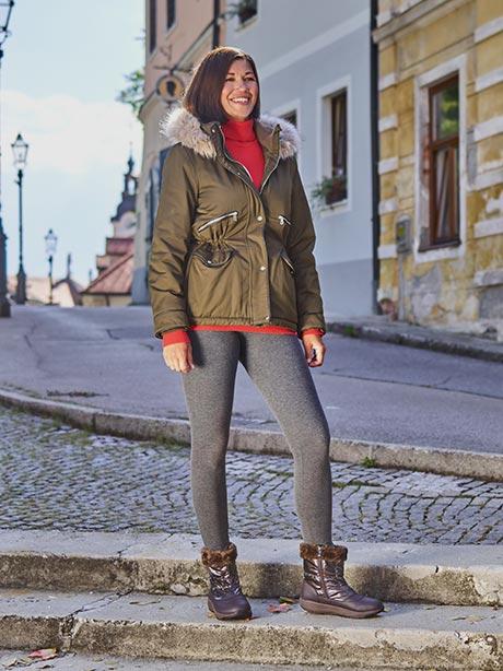 Зимние женские низкие сапоги Walkmaxx Comfort 3,0