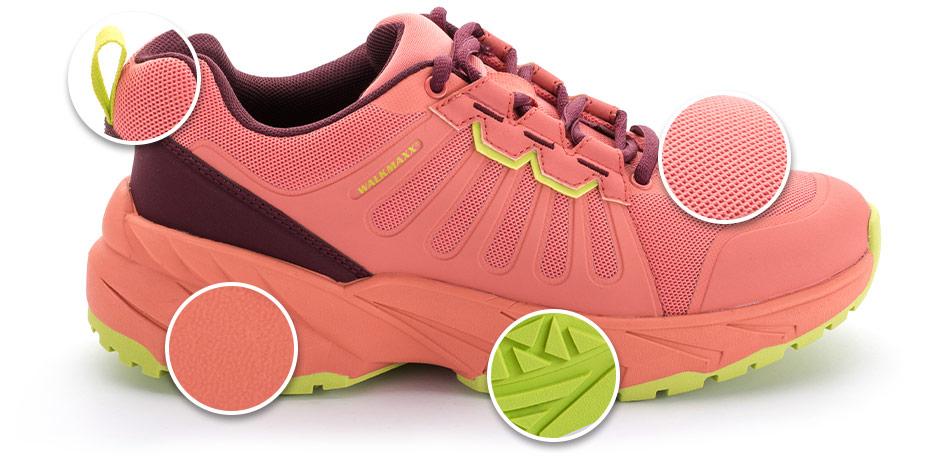 Уличная спортивная обувь на плоской подошве Walkmaxx Fit