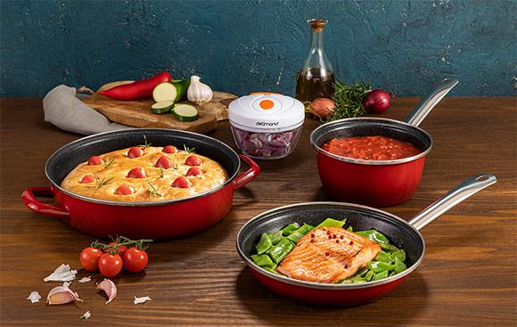 Набор посуды Delimano FiveStar Legend Daily