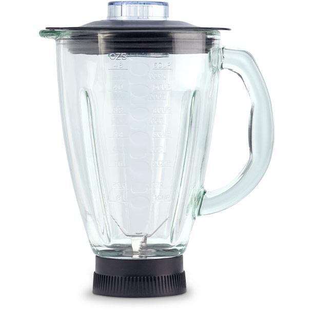 Стеклянная чаша-измельчитель 1,5 л для кухонного робота-комбайна Delimano