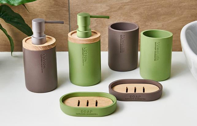 Набор аксессуаров для ванной комнаты Dormeo Dalia 3 предмета